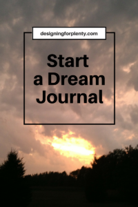 Start a Dream Journal