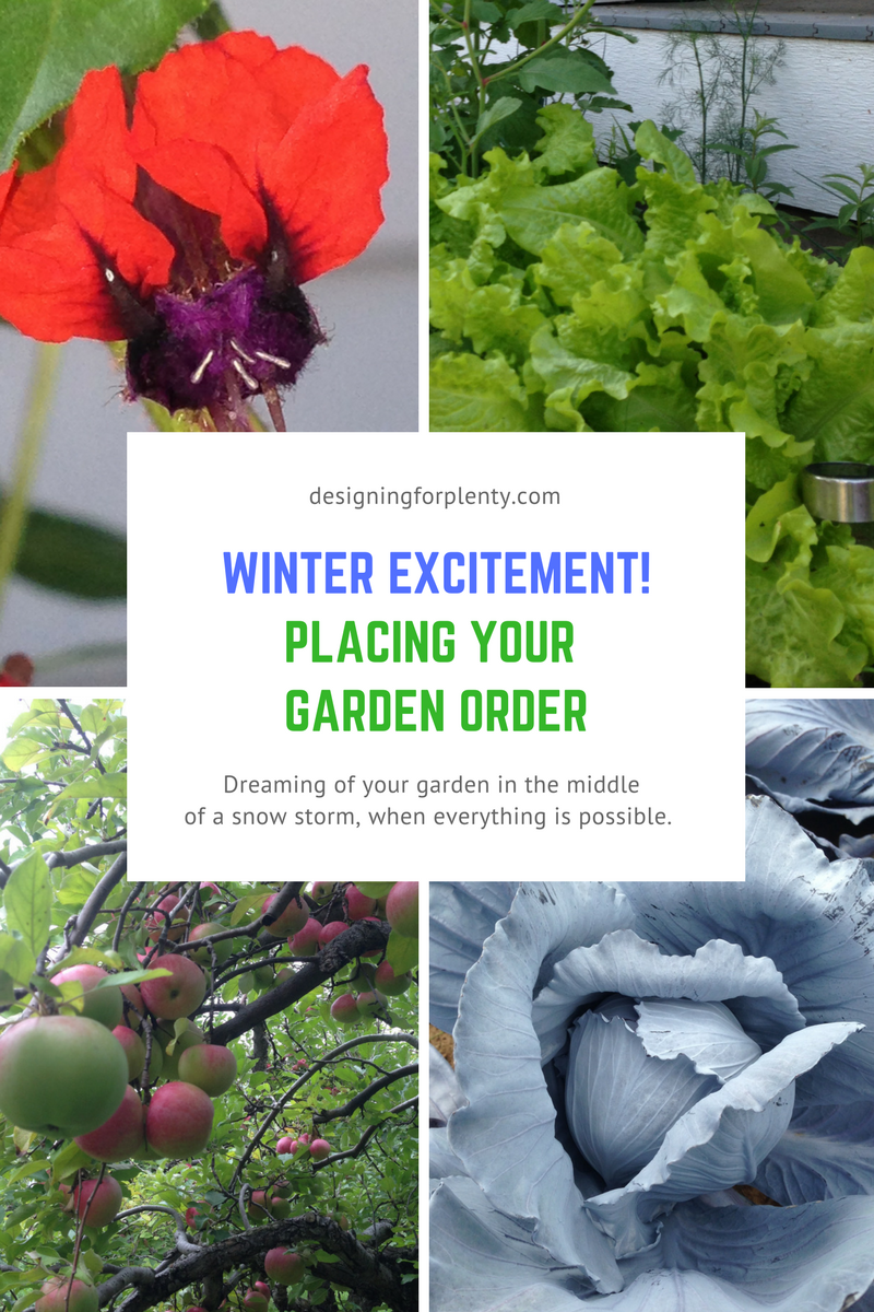 Placing Your Garden Order