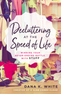 decluttering, spring cleaning