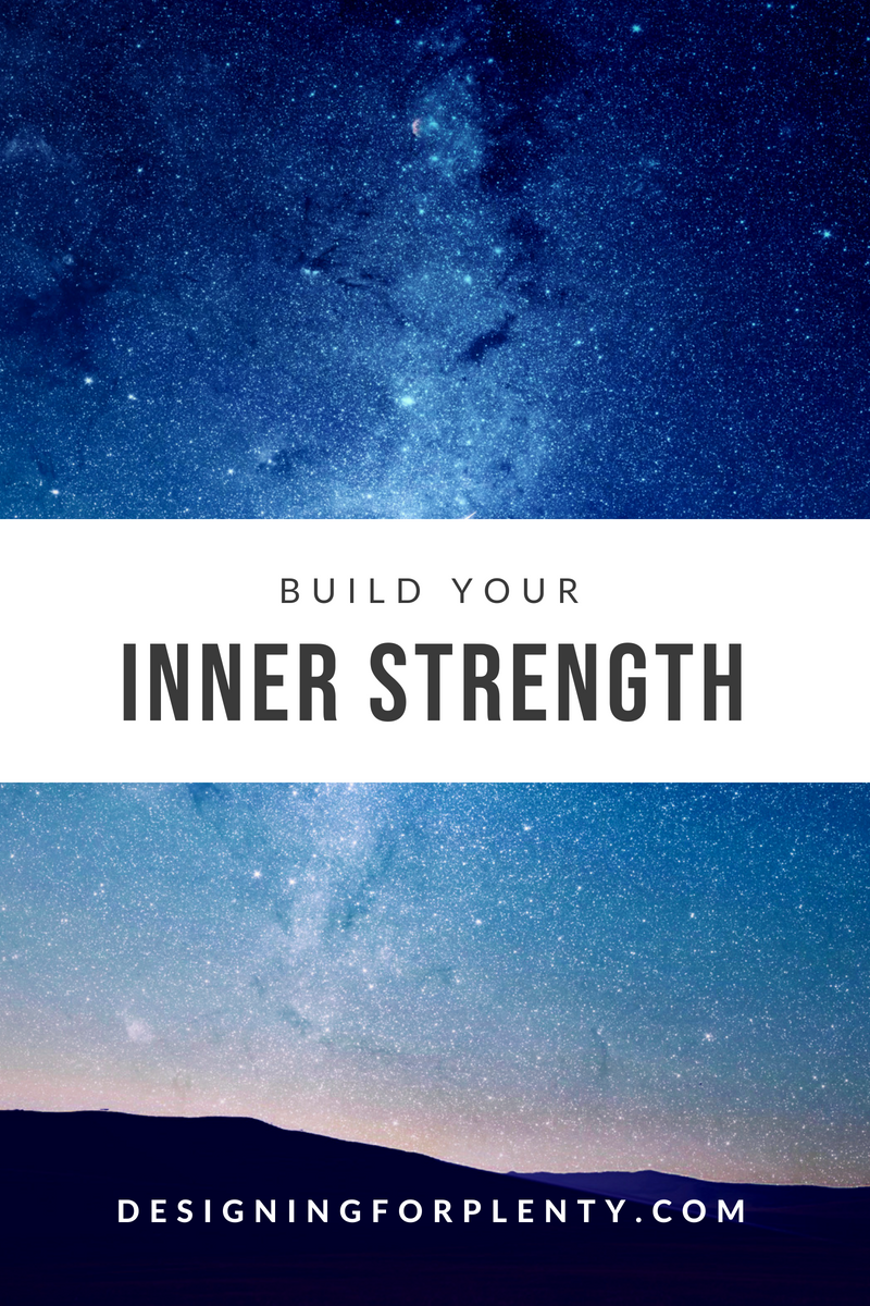 build your inner strength, inner strength, inner, strength, confidence, build,