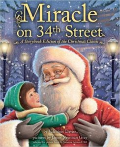 Miracle on 34th Street, Christmas, holiday, book review, Valentine Davies, Christmas Classic