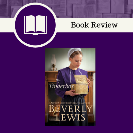 the tinderbox, beverly lewis, christian fiction, bethany house publishers