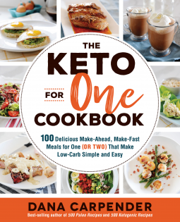 The Keto for One Cookbook cover