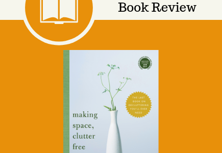 making space clutter free, book review, Tracy McCubbin, Sourcebooks, self help